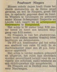 1951 3 okt nvhn proefvaart Niagara